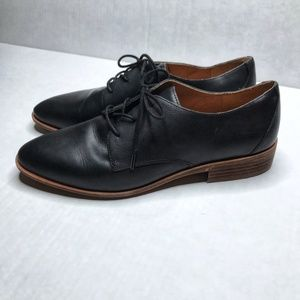 Madewell The Frances Oxford in True Black